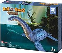 Сборная модель CubicFun Эра Динозавров. Плезиозавр (P671h) -