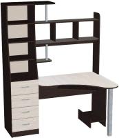 Компьютерный стол Мебель-Класс Символ (венге/дуб шамони, левый) -