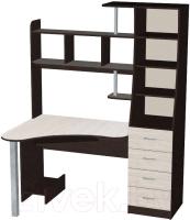 Компьютерный стол Мебель-Класс Символ (венге/дуб шамони, правый) -