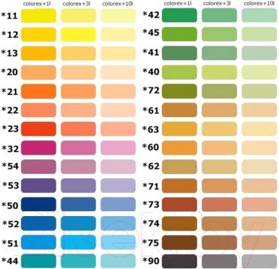 Колеровочный пигмент Sniezka Colorex 12 (100мл, солнечно-желтый)
