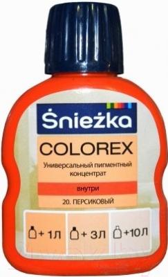 Колеровочный пигмент Sniezka Colorex 20 (100мл, персиковый)