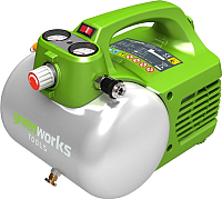 Воздушный компрессор Greenworks GAC6L (4101302) -