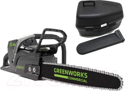 Электропила цепная Greenworks GC82CS (2001607)