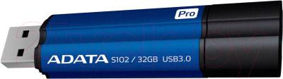Usb flash накопитель A-data S102 Pro Advanced 32GB (AS102P-32G-RBL)