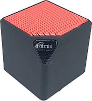 Портативная колонка Ritmix SP-140B (черный/красный) -