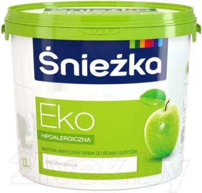 Краска Sniezka Eko (10л, белоснежный)
