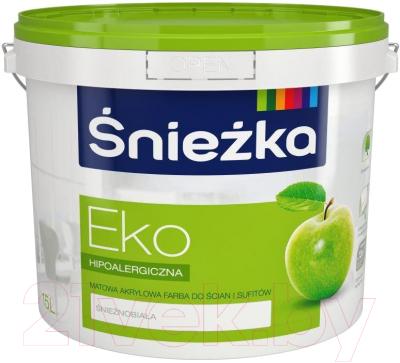 Краска Sniezka Eko (15л, белоснежный)