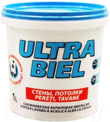 Краска Sniezka Ultra Biel (1л, белоснежный)