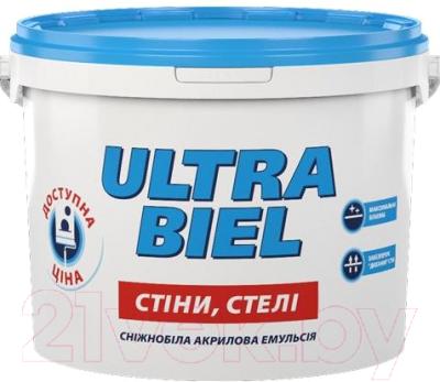 Краска Sniezka Ultra Biel (3л, белоснежный)