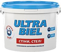 Краска Sniezka Ultra Biel (5л, белоснежный) -