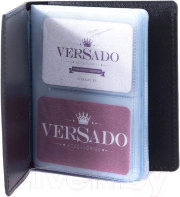 Визитница Versado 079.1 (черный)