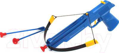 Арбалет игрушечный Bauer Арбалет Спецназ-Гром 118 (с 3-мя стрелами на присосках) - Цвет зависит от партии поставки