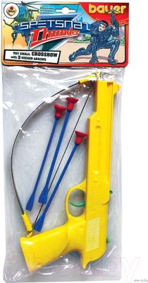 Арбалет игрушечный Bauer Арбалет Спецназ-Гром 118 (с 3-мя стрелами на присосках)