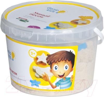 Кинетический песок Genio Kids Умный песок. Розовый SSR201 (2кг)