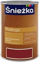 Эмаль Sniezka Podloga (1л, средний орех) -