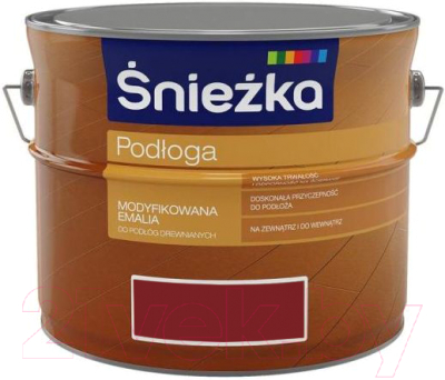 Эмаль Sniezka Podloga (2.5л, средний орех)