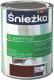 Эмаль Sniezka Supermal масляно-фталевая (800мл, коричневый) -