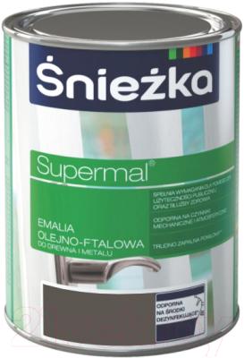 Эмаль Sniezka Supermal масляно-фталевая (800мл, светло-серый)