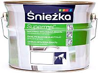 Эмаль Sniezka Supermal масляно-фталевая (5л, белый глянец) -