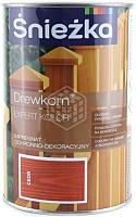 Защитно-декоративный состав Sniezka Древкорн Expert (900мл, кедр) -