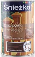Защитно-декоративный состав Sniezka Древкорн Expert (900мл, средний палисандр) -
