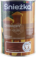 Защитно-декоративный состав Sniezka Древкорн Expert (900мл, темный орех) -