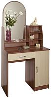 Туалетный столик с зеркалом Олмеко Надежда-М09 (шимо/клен азия) -