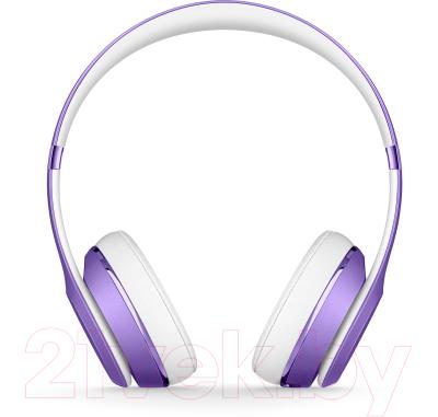 Наушники-гарнитура Beats Solo3 Wireless On-Ear Headphones / MP132ZM/A (ультра фиолетовый)