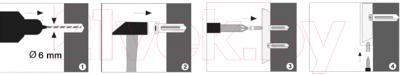 Держатель для туалетной бумаги Wasserkraft Lippe K-6525