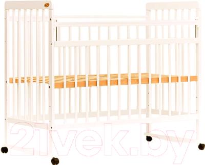 Детская кроватка Bambini Euro Style М 01.10.03 (слоновая кость)
