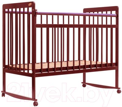 Детская кроватка Bambini Euro Style М 01.10.03 (светлый орех)