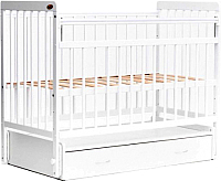 Детская кроватка Bambini Euro Style М 01.10.04 (белый) -