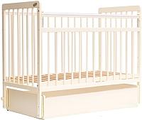 Детская кроватка Bambini Euro Style М / 01.10.04 (слоновая кость) -