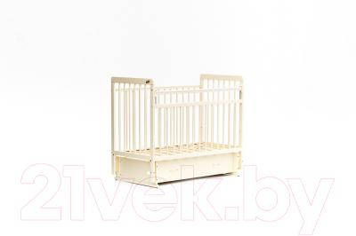 Детская кроватка Bambini Euro Style М 01.10.04 (слоновая кость)