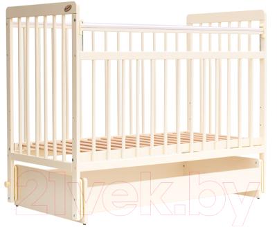 Детская кроватка Bambini Euro Style М 01.10.05 (слоновая кость)