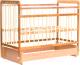 Детская кроватка Bambini Euro Style М 01.10.05 (натуральный) -