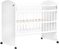 Детская кроватка Bambini Elegance М / 01.10.06 (белый) -