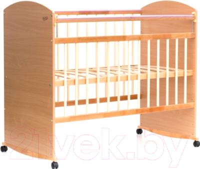 Детская кроватка Bambini Elegance М 01.10.06 (натуральный)