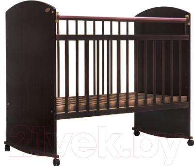 Детская кроватка Bambini Elegance М 01.10.06 (темный орех)