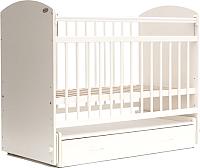 Детская кроватка Bambini Elegance М 01.10.07 (белый) -