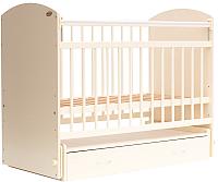 Детская кроватка Bambini Elegance М / 01.10.07 (слоновая кость) -