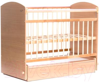 Детская кроватка Bambini Elegance М 01.10.07 (натуральный)