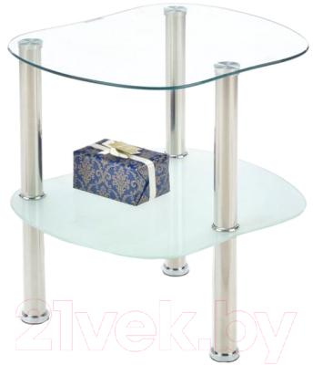 Журнальный столик Halmar Arya (молочный)