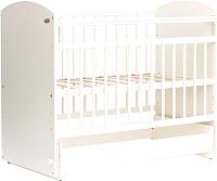 Детская кроватка Bambini Elegance М 01.10.08 (белый) -