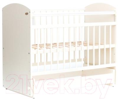 Детская кроватка Bambini Elegance М 01.10.08 (слоновая кость)