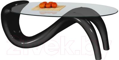 Журнальный столик Halmar Cortina (черный)