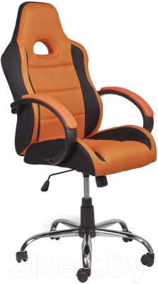 Кресло офисное Седия Tyrrell (черный/оранжевый)