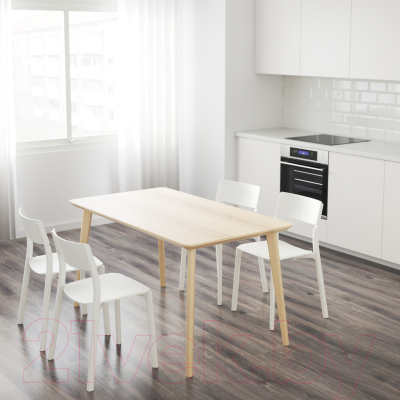 Обеденный стол Ikea Лисабо 203.612.27