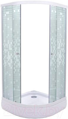Душевой уголок Triton Стандарт А 90x90 (мозаика)