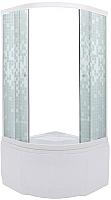 Душевой уголок Triton Стандарт Б 90x90 (мозаика) -